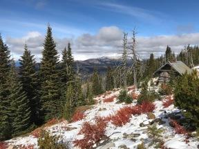Brundage Mountain up out of McCall, Idaho.