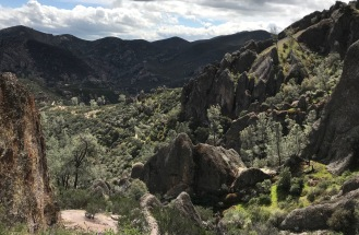 In Pinnacles National Park on the High Peaks Trail