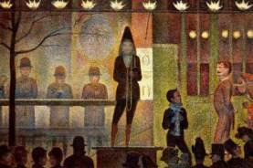 """Georges Seurat, """"La Parade de Cirque"""""""